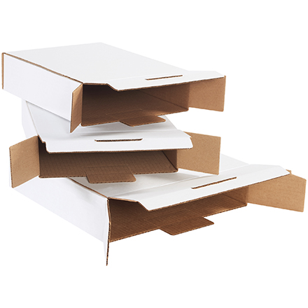 White Side Loading Locking Mailers